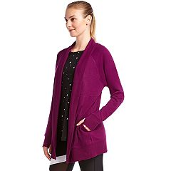 Women's Jockey Sport Cozy Thumb Hole Cardigan