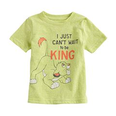 Disney's The Lion King Baby Boy Simba 'Just Can't Wait To Be King' Graphic Tee by Jumping Beans®