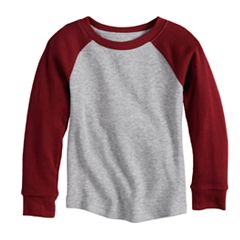 Baby Boy Jumping Beans® Thermal Raglan Top