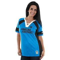 Women's Majestic Carolina Panthers Draft Me Fashion Top