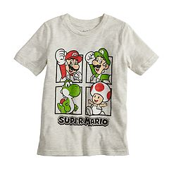 Boys 4-10 Jumping Beans® Nintendo Super Mario Bros. Grid Graphic Tee