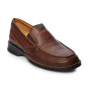 Clarks Northam Step Slip On  Leather Mens Loafers Shoes