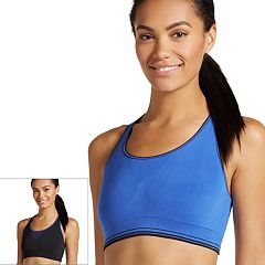 Jockey Bras: Sporties Seamless Low-Impact Sports Bra 2155