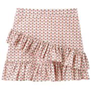 Girls 4-12 Carter's Floral Tiered Ruffle Skirt