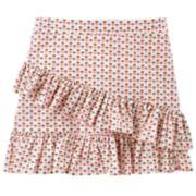Girls 4-12 Carter's Floral Tiered Ruffle Skirt