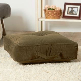 Greendale Home Fashions Plush Indoor Outdoor Reversible Floor Throw Pillow