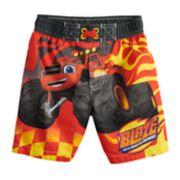 Toddler Boy Blaze And The Monster Machines Swim Trunks