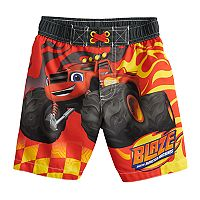 Toddler Boy Blaze And The Monster Machines Swim Trunks