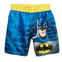 Toddler Boy DC Comics Batman Swim Trunks