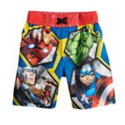 Toddler Boy Marvel Avengers Swim Trunks