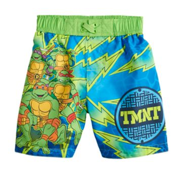 Toddler Boy Teenage Mutant Ninja Turtles Swim Trunks