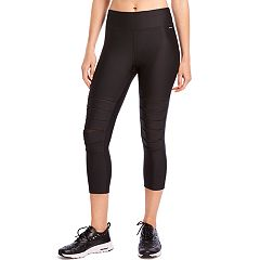 Women's Jockey Sport Slashdance Mid-Rise Capri Leggings