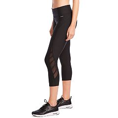 Women's Jockey Sport Traction Mid-Rise Capri Leggings