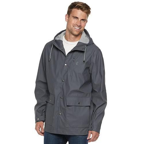 Men's IZOD Hooded Rain Jacket