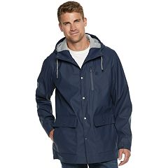 Men's IZOD Hooded Rain Jacket
