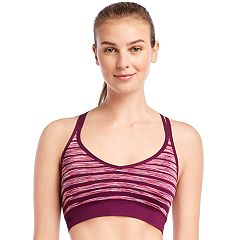 Jockey Sport Space-Dye Medium-Impact Sports Bra 9746