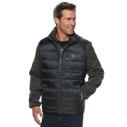 Men's IZOD Systems Puffer Vest Jacket