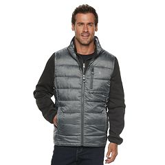 Men's IZOD Systems Puffer Vest Jacket