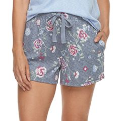 Women's Croft & Barrow® Printed Pajama Shorts