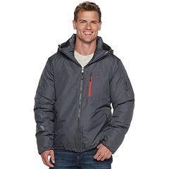 Men's IZOD Midweight Hooded Puffer Jacket