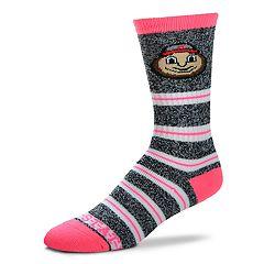Women's For Bare Feet For Bare Feet Ohio State Buckeyes Crew Cut Socks