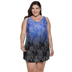 Plus Size Apt. 9® Printed Ombre Chemise