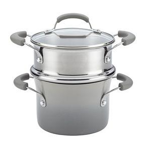Rachael Ray Classic Brights Nonstick Sauce Pot & Steamer Insert Set