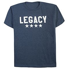Boys 8-20 & Girls 7-16 Dad & Me Legacy Graphic Tee