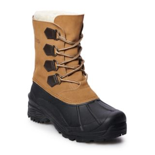 totes Precise Men's Waterproof Winter Boots