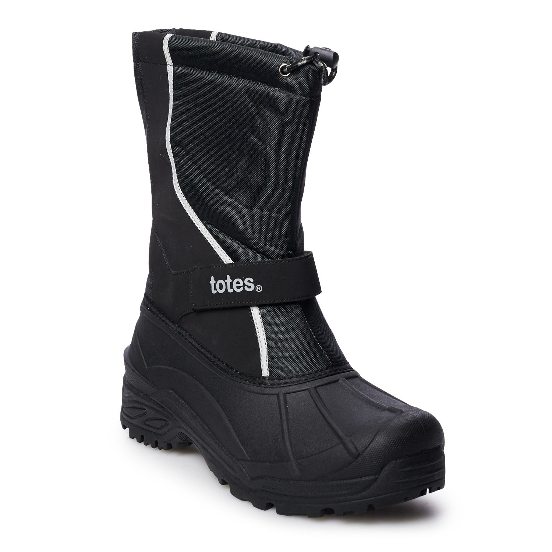 totes Wave Men\u0027s Waterproof Winter Boots Mens Snow | Kohl\u0027s