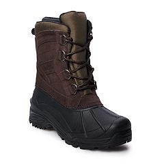 totes Rumble Men's Waterproof Winter Boots