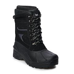 totes Gloss Men's Waterproof Winter Boots