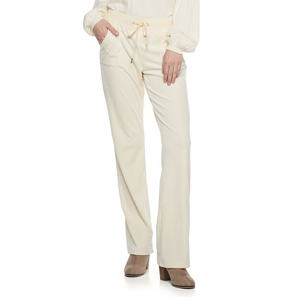 Women S Juicy Couture Velour Midrise Bootcut Pants