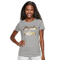 Women's Apt. 9® Graphic Bridal Pajama Tee