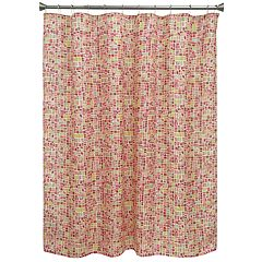 Bacova Mosaic Tiles Shower Curtain