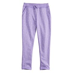 Girls 4-10 Jumping Beans® French Terry Jogger