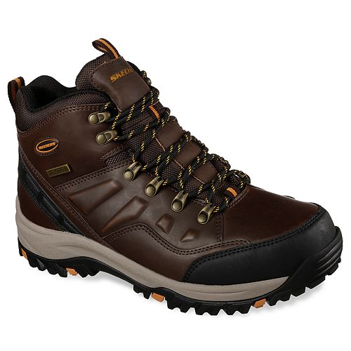 540d7511c87d8 Skechers Relaxed Fit Relment Traven Men's Waterproof Boots