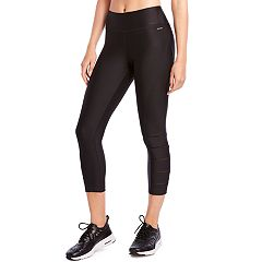 Women's Jockey Sport Nano Slash Mid-Rise Capri Leggings