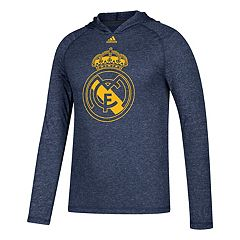 Men's adidas Real Madrid CF Pitch Street Hooded Tee