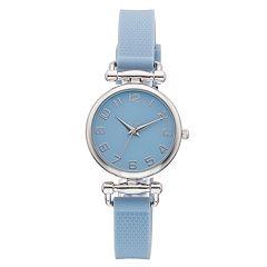 Women's Blue Rubber Watch