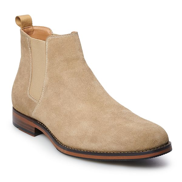 Sonoma Goods For Life Kristopher Men S Suede Chelsea Boots