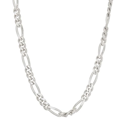 Men's 'sterling Silver Figaro Chain Necklace by Kohl's