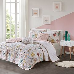 Urban Habitat Kids Cacti Cotton Printed Coverlet Set