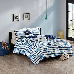Urban Habitat Kids Boo Cotton Printed Coverlet Set