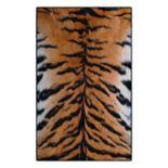 Brumlow Mills Tiger Stripes Animal Printed Rug