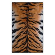 Brumlow Mills Tiger Stripes Animal Printed Rug