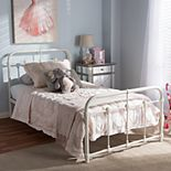 Baxton Studio Mandy Industrial Platform Twin Bed
