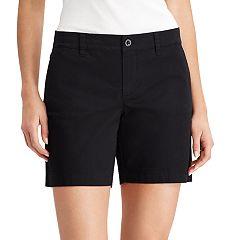 Women's Chaps Twill Shorts