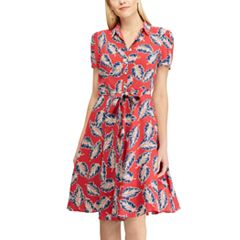 Women's Chaps Print Shirt Dress