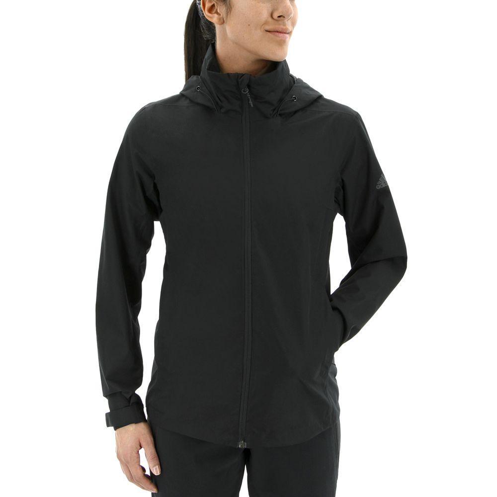 Women's adidas Wandertag Hooded Climaproof Rain Jacket
